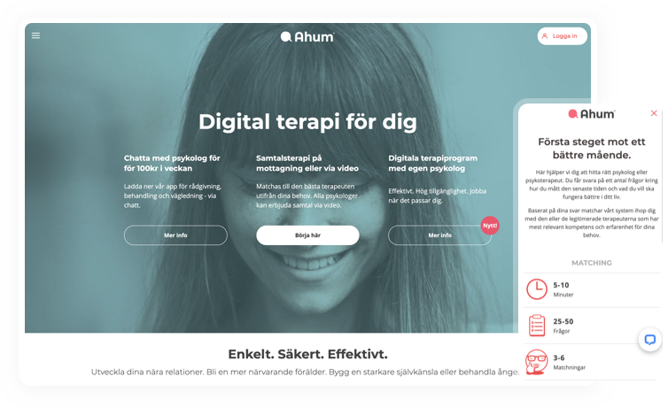 Helping Ahum build an Online Healthcare Matching Service to Empower Patients