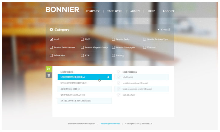 One Integrated HR System to Manage Bonnier's 9000 Employees